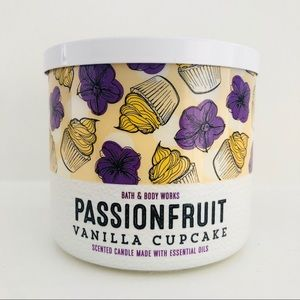 Bath & Body Works Passionfruit Cupcake Candle